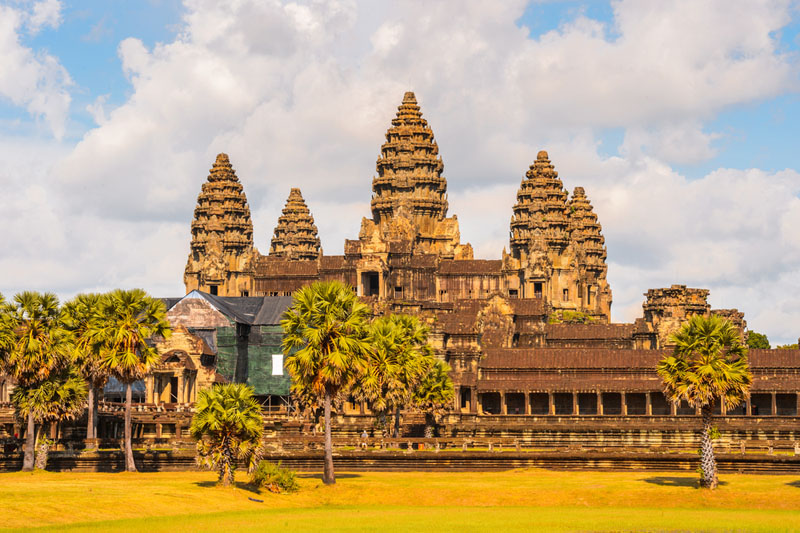 معبد أنغكور وات في سيام ريب