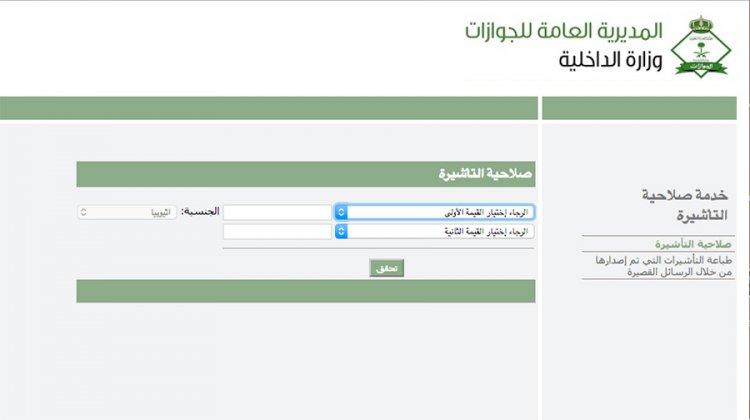 استعلام عن تأشيرة خروج وعودة سائح