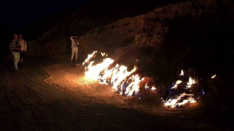 جبل النار في أذربيجان