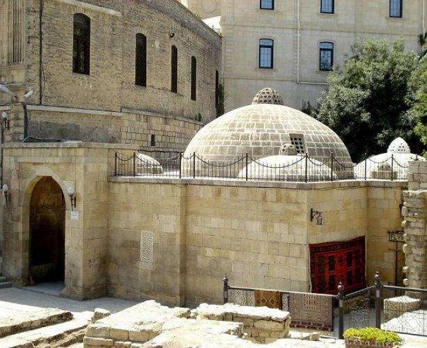 حمام حجي قايب في مدينة باكو أذربيجان
