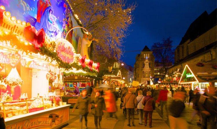 احتفال سكان دورتموند بالكريسماس