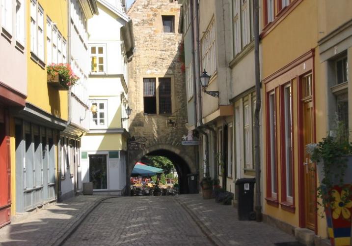 مدينة إرفورت في ألمانيا