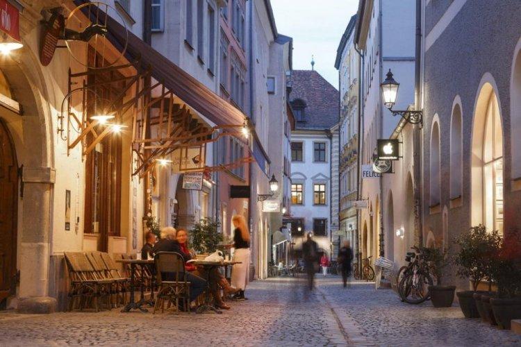 شوارع مدينة ريغنسبورغ