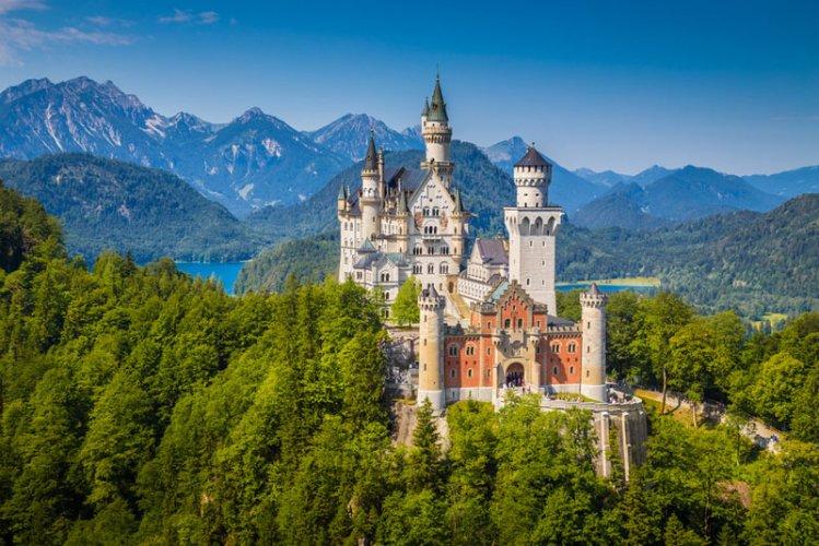 قصر نويشفانشتاين (الملك لودفيج الثاني)