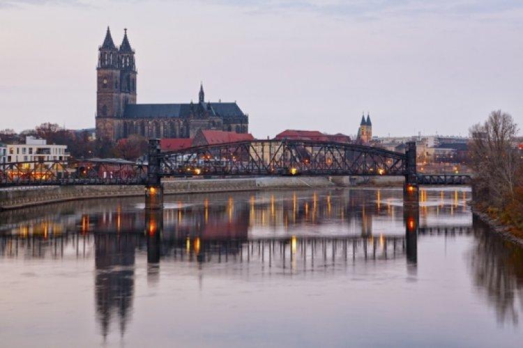 مدينة ماغديبورغ في ألمانيا