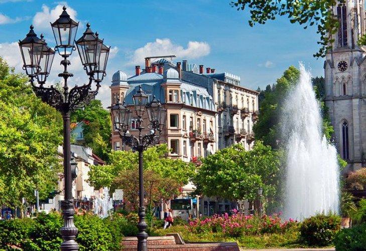 مدينة بادن بادن في ألمانيا