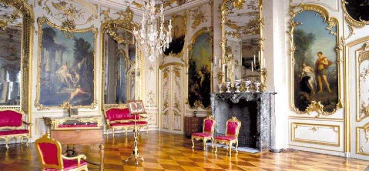 الفحامة والاناقة من داخل قصر سانسوسي