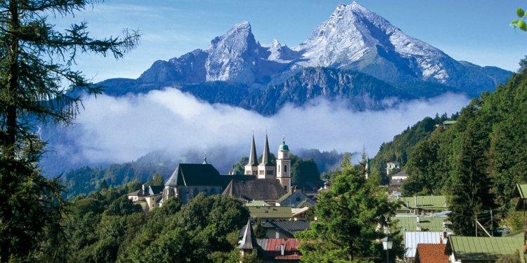 جبال الألب البافارية في ألمانيا