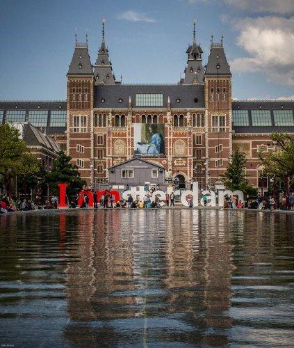 متحف ريكز في أمستردام هولندا