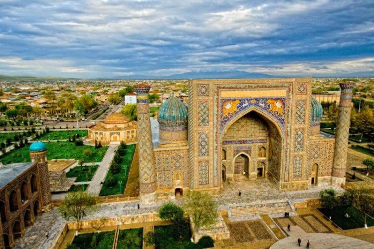 مدينة طشقند في أوزبكستان