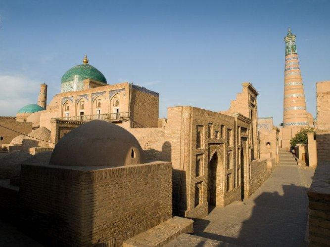 قلعة ایجان في مدينة خوارزم - أوزبكستان