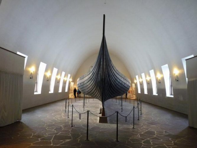 متحف سفينة الفايكنغ في أوسلو - النرويج