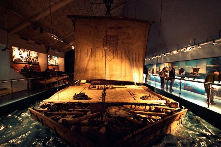 متحف كون تيكي - Kon-Tiki Museum