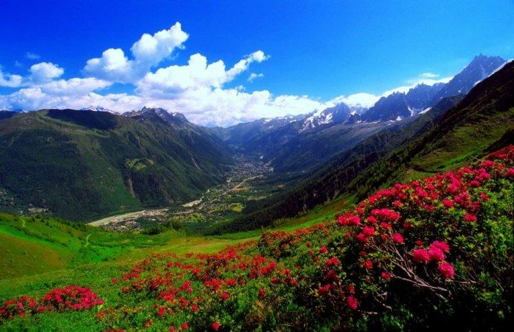 المشاهد الخلابة بجبال الكاربات