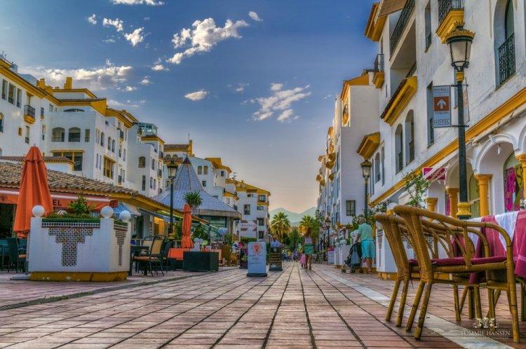 شوارع ماربيا القديمة