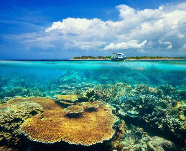 اماكن الغوص في جزر جيلي
