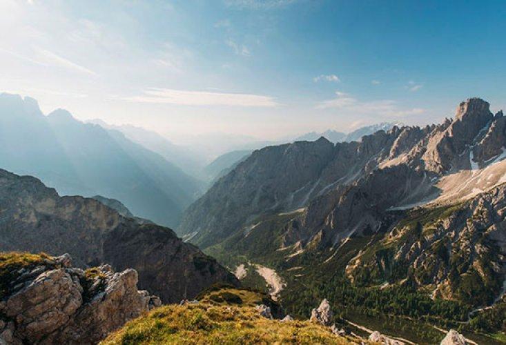 جبال ألبرز في إيران