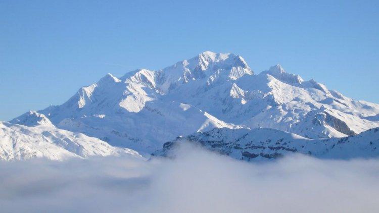 جبل مون بلون في إيطاليا
