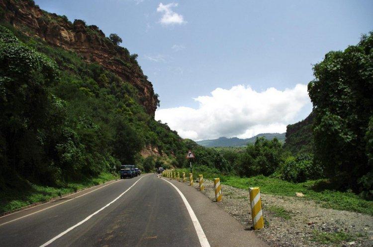 الطريق الى بحيرة تانا
