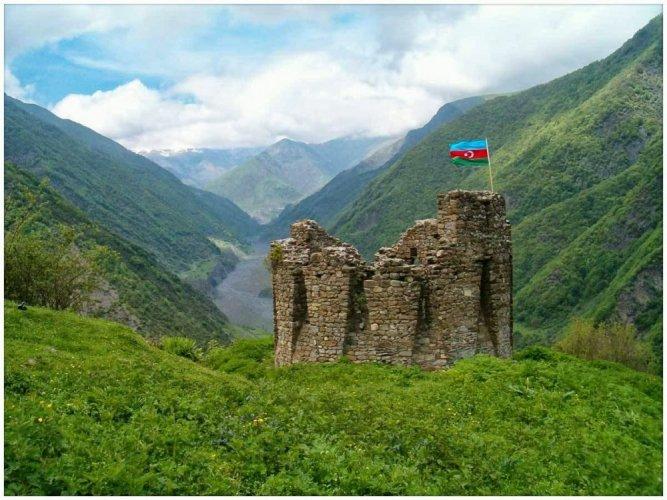 الطبيعة في غابالا أذربيجان