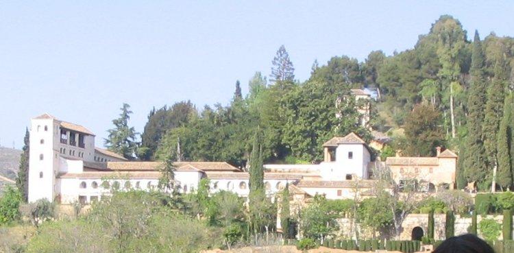 قصر جنة العريف في غرناطة - اسبانيا