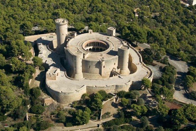 قلعة بيلفير من الأعلى