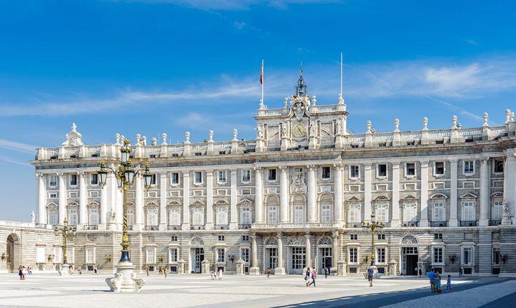 القصر الملكي في مدريد - Palacio Real