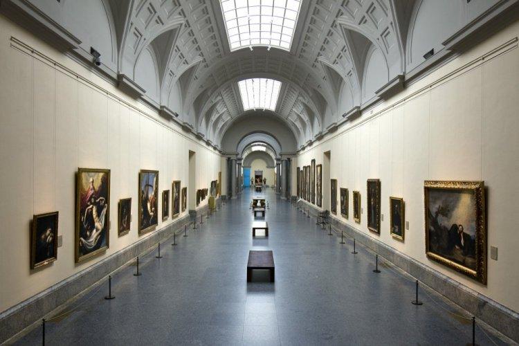 متحف ديل برادو في اسبانيا من الداخل