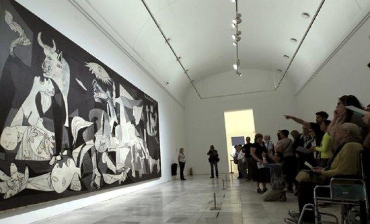 اشهر الاعمال الفنية لبيكاسو في متحف رينا صوفيا