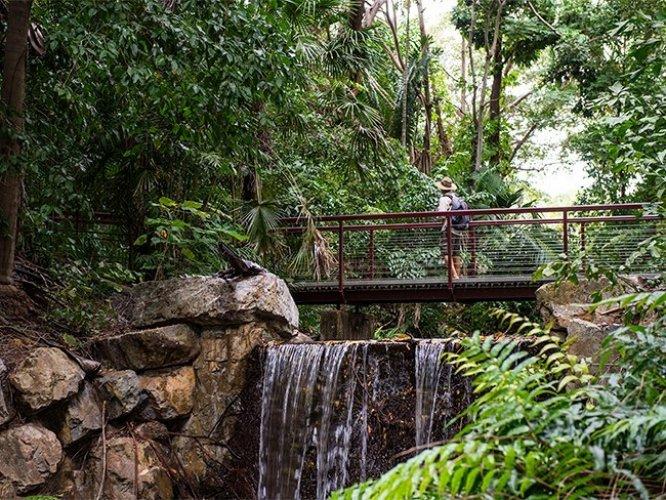 حدائق داروين النباتية في أستراليا
