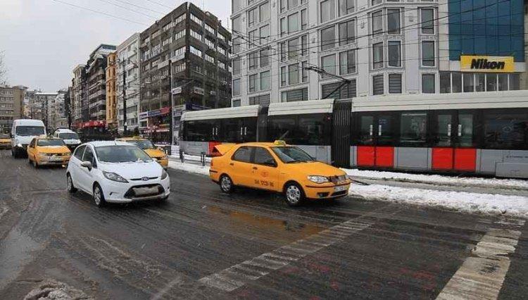 سيارات الأجرة في اسطنبول