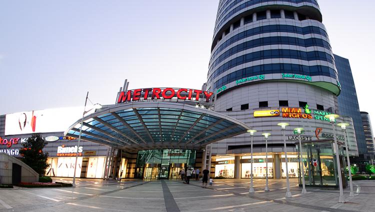 مترو سيتي Metrocity AVM في اسطنبول
