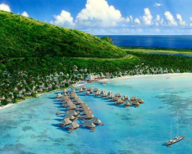 السياحة في تاهيتي