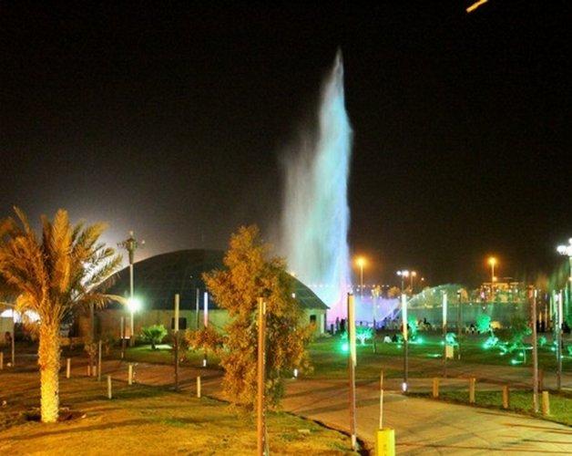 منتزه الملك عبدالله البيئي بالاحساء