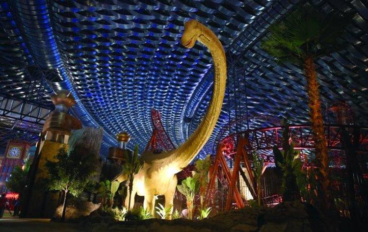 منطقة الديناصورات في IMG