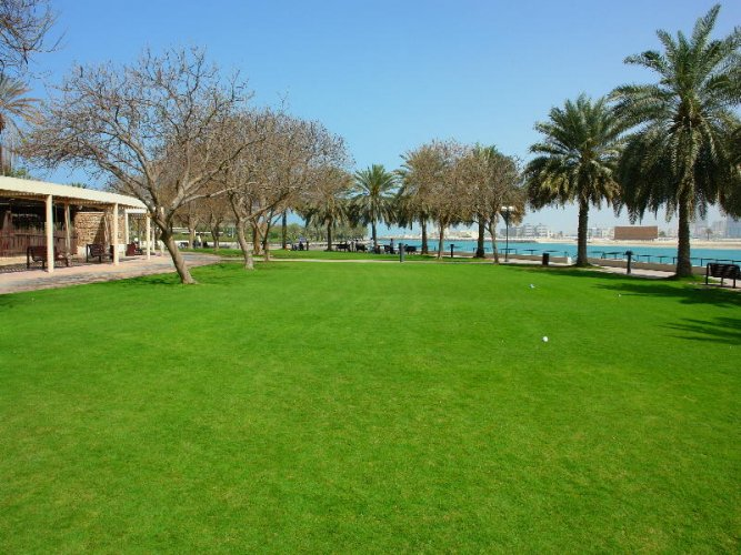 حديقة الممزر في دبي