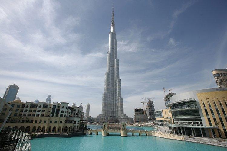 نافورة برج خليفة