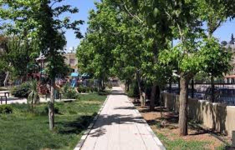 منتزه غمدان في مدينة عمان