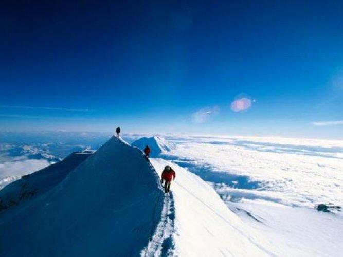 روعة تسلق جبل دينالي