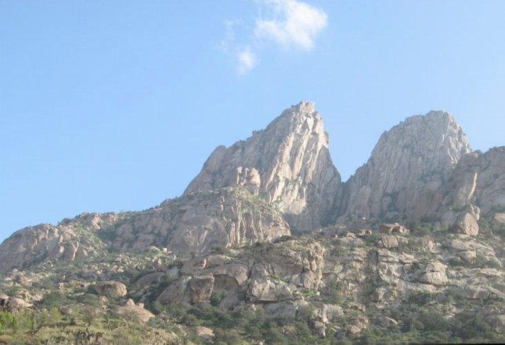 جبل شدا في الباحة