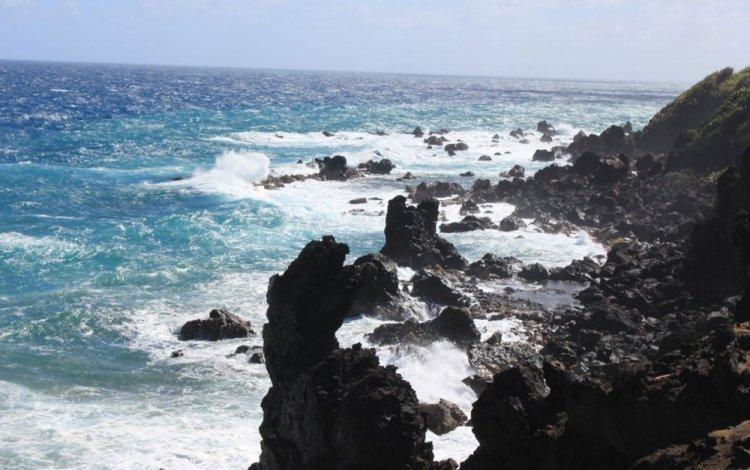 الصخور السوداء احمد المعالم الطبيعية في سانت كيتس ونيفيس