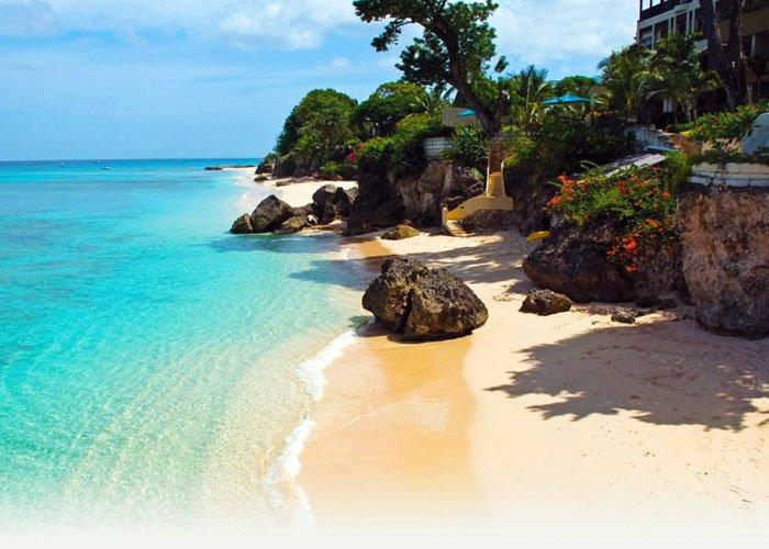 جزيرة باربادوس في البحر الكاريبي
