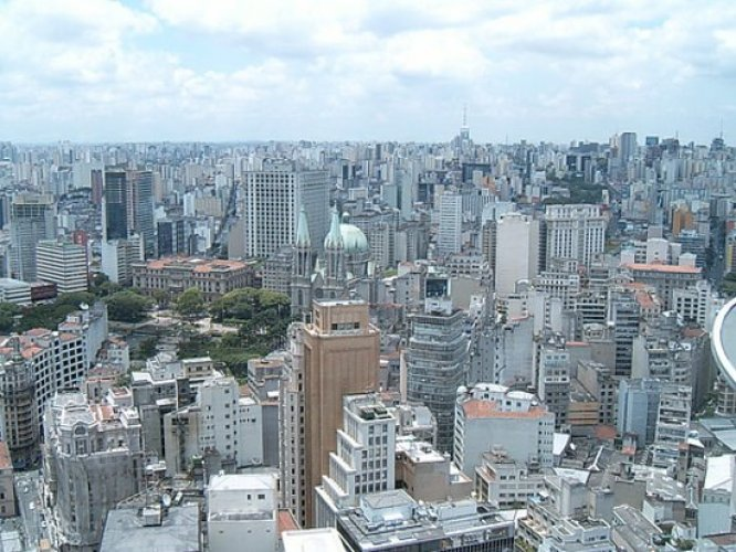 مدينة ساو باولو في البرازيل