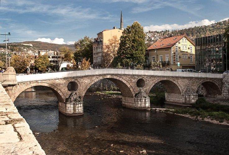 الجسر اللاتيني بمدينة سراييفو