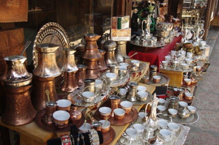 سوق النحاس المميز في مدينة سراييفو