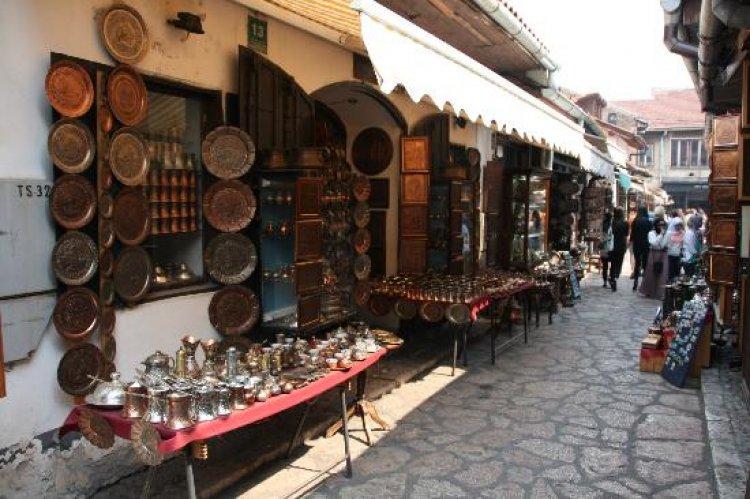 اقدم سوق في مدينة سراييفو