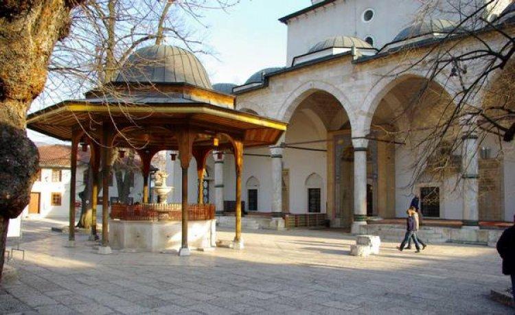 مسجد الغازي بمدينة سراييفو