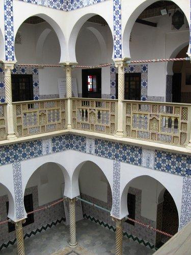الطراز العثماني في بيوت القصبة