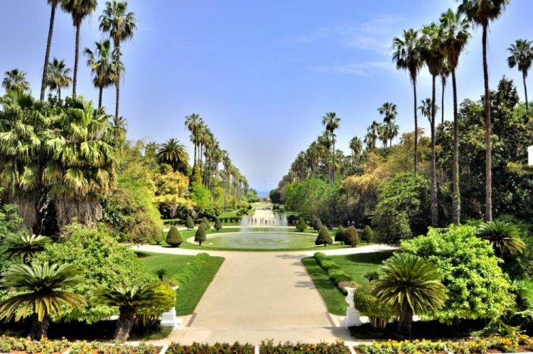 حديقة الحامة الجزائر العاصمة