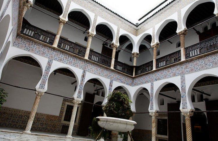 البناء العثماني في بيوت القصبة بالجزائر العاصمة